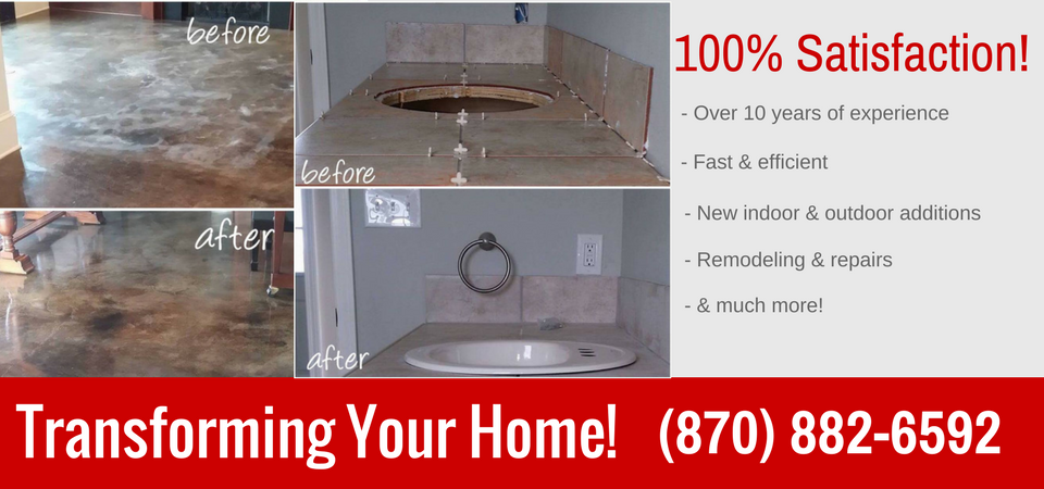 Home Repair Services For Jonesboro AR - Bathroom remodel jonesboro ar